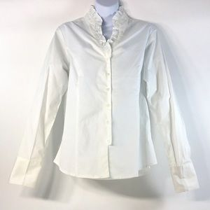 NWT, Coldwater Creek Ruffle Blouse